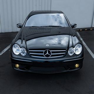 Mercedes C55 AMG Morimoto OSRAM CBB Headlight Retrofit by MDRN Retrofits in Orange County, CA