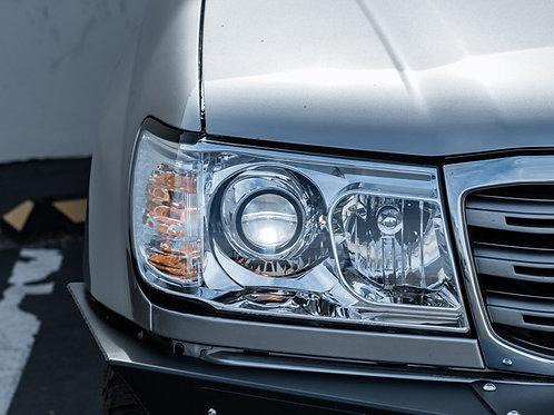 Toyota Land Cruiser PRO Headlights by MDRN Retrofits in Orange County, CA