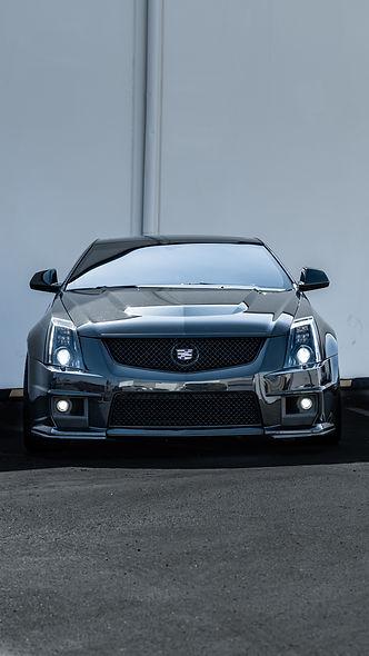 Cadillac CTS-V Elite Headlight Retrofit by MDRN Retrofits in Orange County