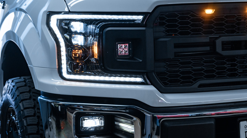 2020 Ford F-150 with Morimoto XB LED headlights and fog lights installed by MDRN Retrofits