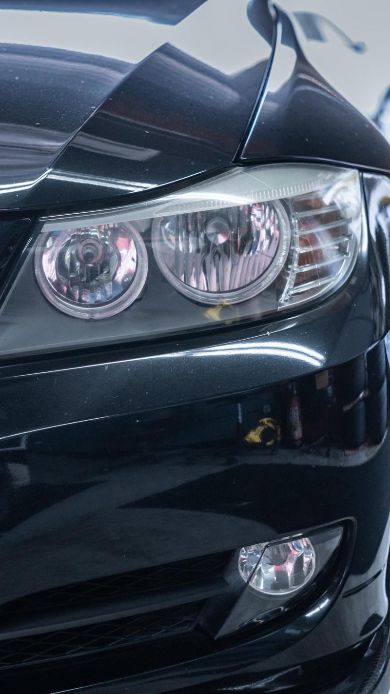 E90 BMW 3 Series Halogen LCI Headlights at MDRN Retrofits
