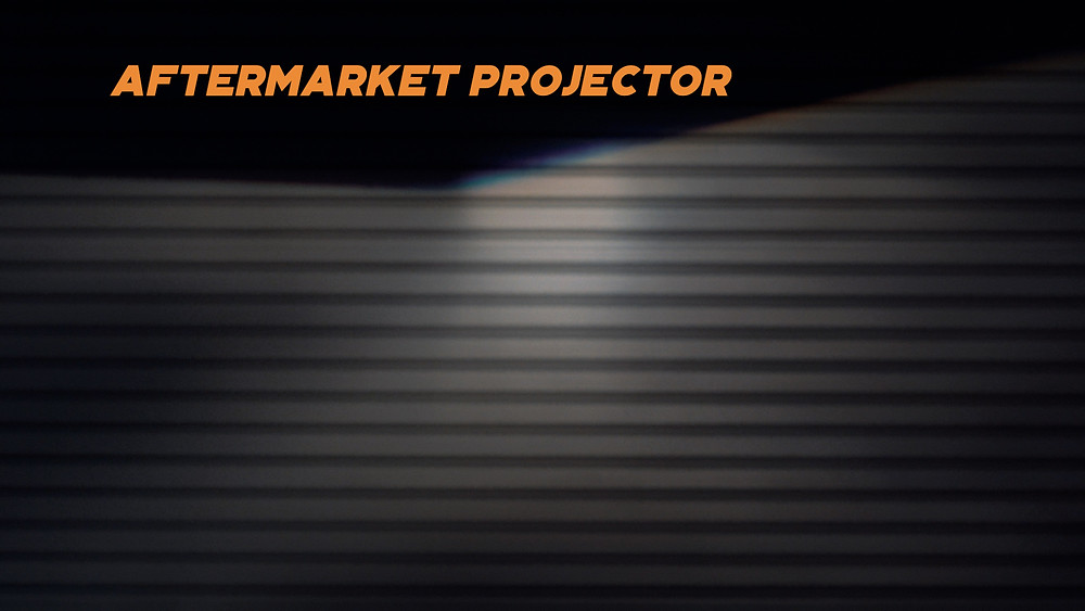 Aftermarket Ebay Projector Output Lux Measurement at MDRN Retrofits