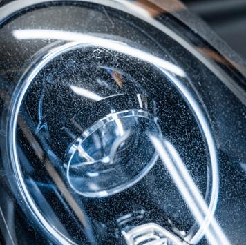 Porsche 981 Boxter Cayman Headlight Restoration at MDRN Retrofits in Orange County, CA