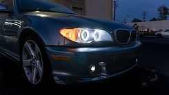 BMW E46 LCI Coupe Halo Angel Eye Headlight Retrofit at MDRN