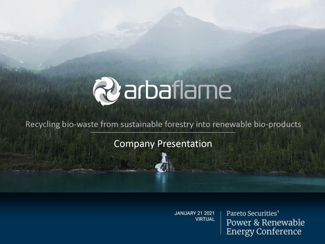 Company presentation, 21 January 2021