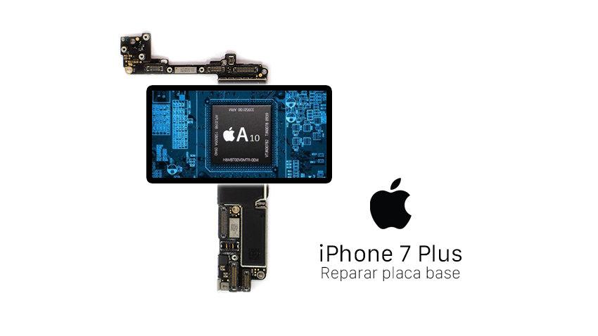 Extracción datos (SWAP) - Placa Base iPhone 7 Plus