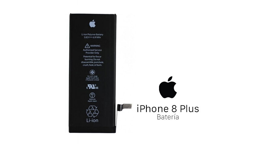 Reparación Bateria iPhone 8 Plus