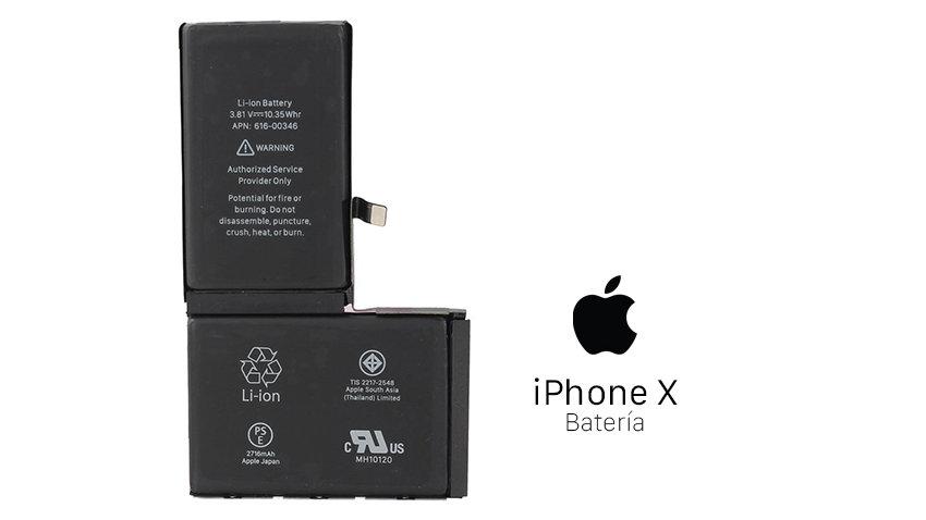 Reparación Bateria iPhone X