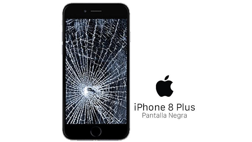 Reparación Pantalla iPhone 8 Plus Negra