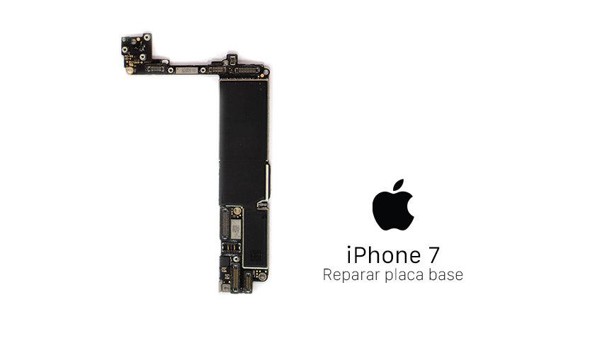 Reparación Placa Base iPhone 7