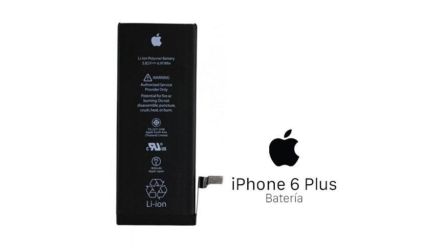 Reparación Bateria iPhone 6 Plus