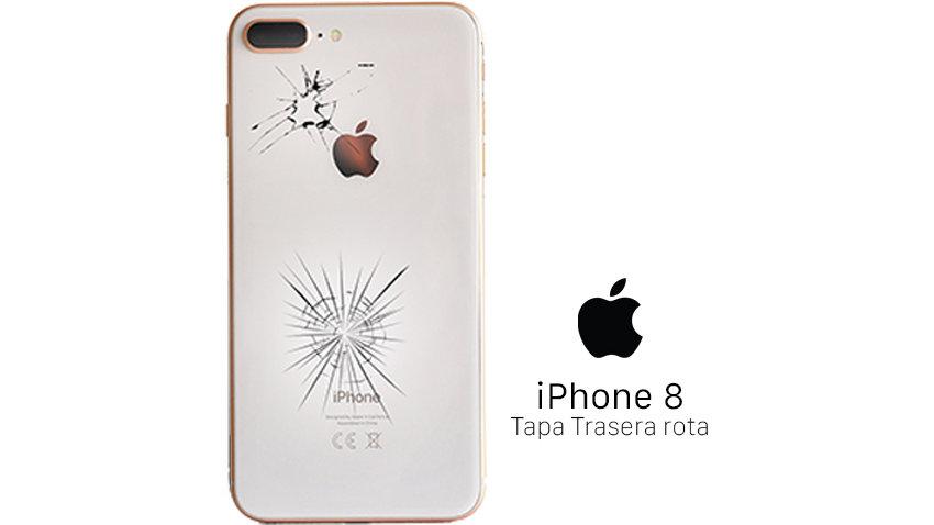 Reparación Tapa Trasera iPhone 8