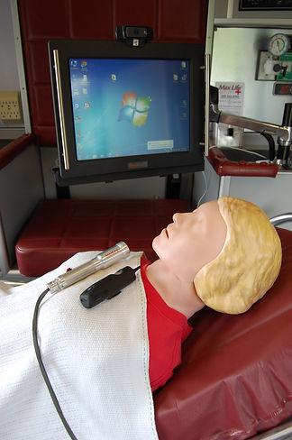 Max Life, telemedicine, telehealth, pre-hospital care, ambulatory system, live streaming cameras, portable units, pediatirc and neonatal transportation, eXAMcam, clinic case, ambulance, hospital, pre-hospital, diagnose, live viewing saves lives