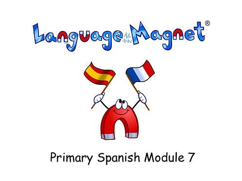 Language Magnet Primary Spanish Module 7
