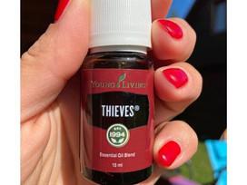 Opis olejku  - Thieves, olejek na odporność.