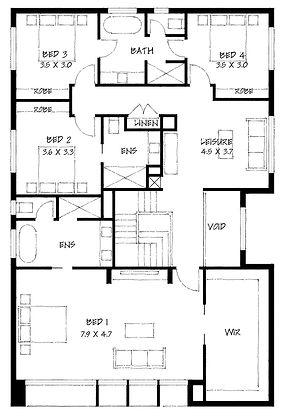 Minimalist 49 first floor plan