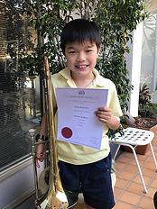 Cadyn with Credit 2nd grade Trombone.jpg
