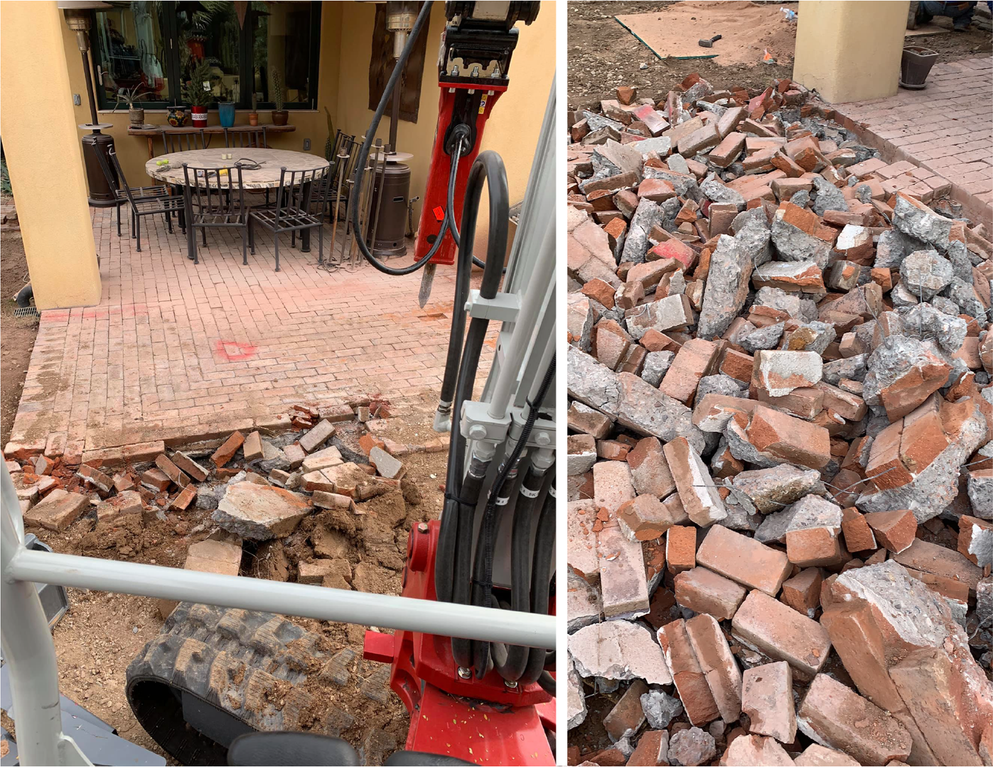 Patio Removal