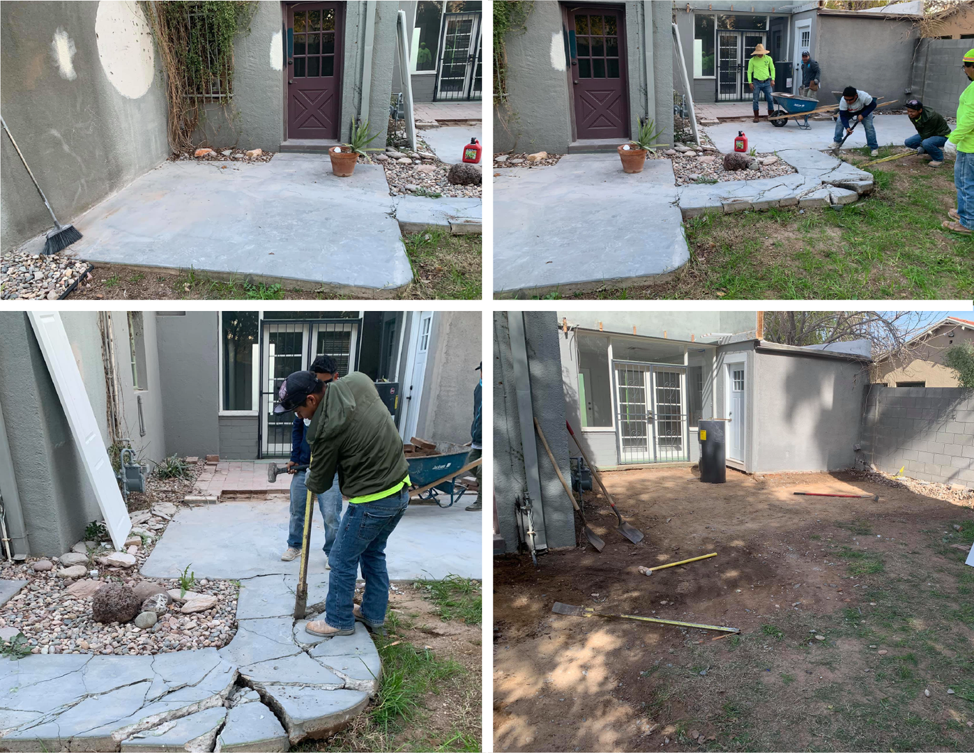 Patio Demo