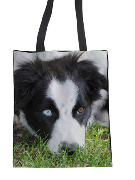 Scout - Border Collie Tote Bag