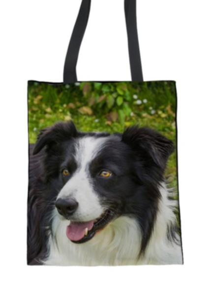 Ranger - Border Collie Tote Bag