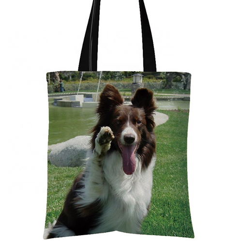 Woody - Border Collie Tote Bag