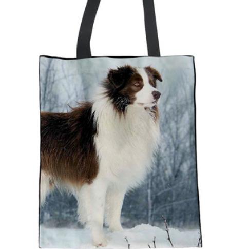 Hunter - Border Collie Tote Bag