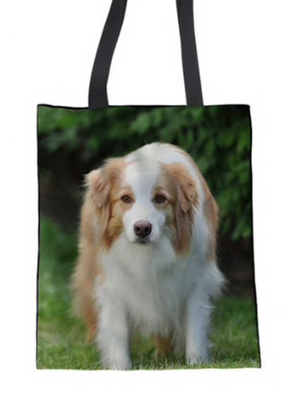 Mac - Border Collie Tote Bag