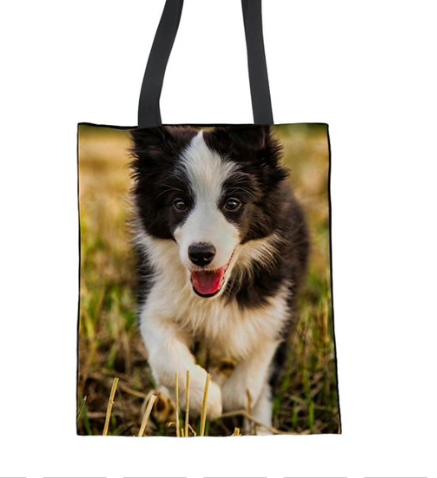 Bella - Border Collie Tote Bag
