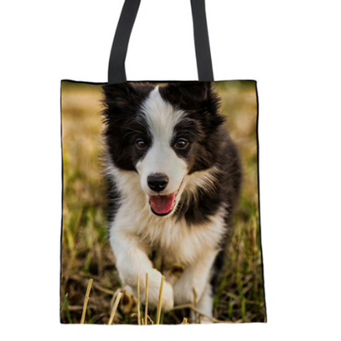 Bella - Border Collie Tote Bag