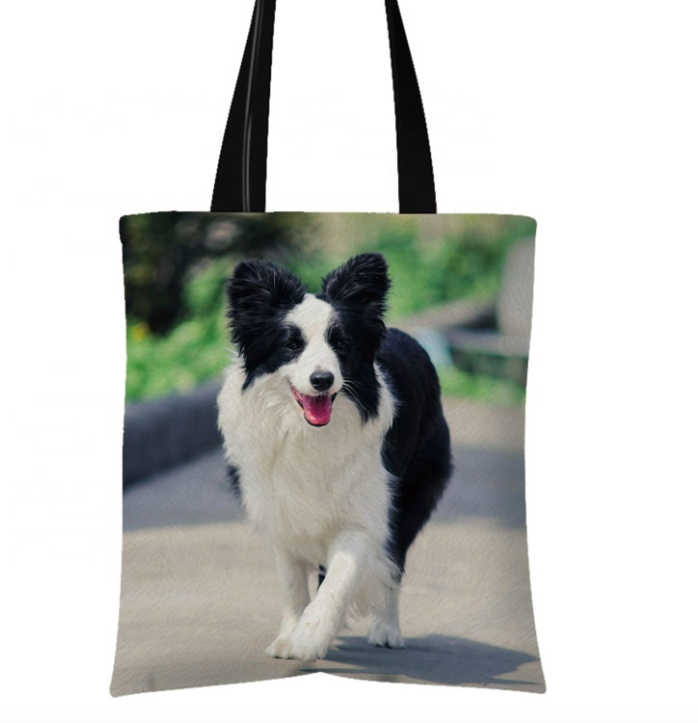 Cali - Border Collie Tote Bag