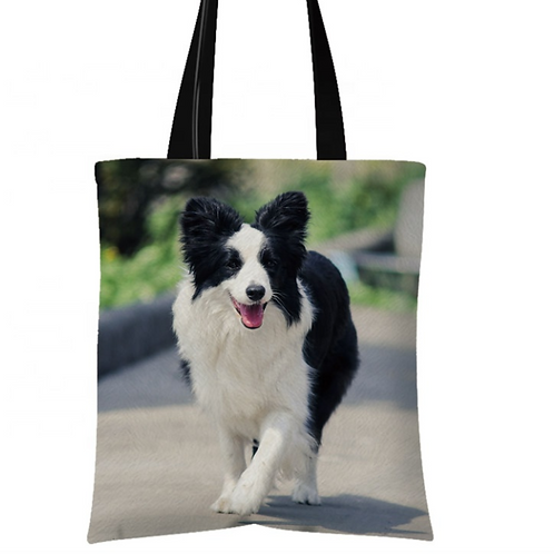 Cali - Border Collie Tote Bag