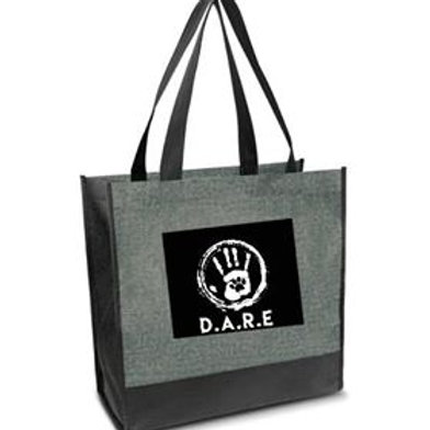 Grey Canvas DARE Tote