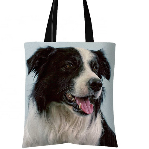 Rex - Border Collie Tote Bag