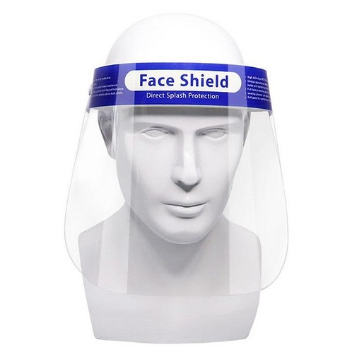 Reusable Clear Face Shield Mask, Face Mask, Visor Mask, Clear Face Shiel