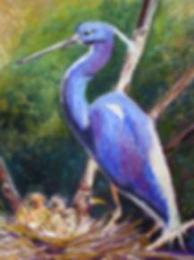 Chrystal,Jonnie-HeronFamily-pastel16x12.