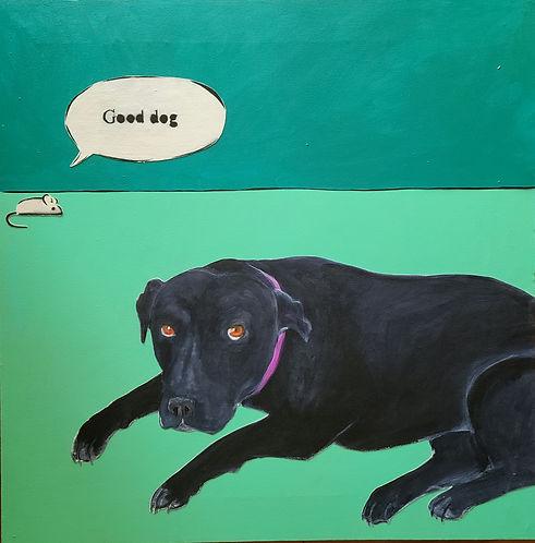 Kim Winter-Good Dog-30x30-acrylic.jpg