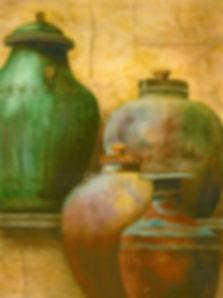 Byrne,Kathy-PotsForSale27x22watercolor.j