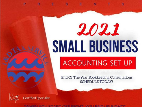 2021 Small Business Setup!!