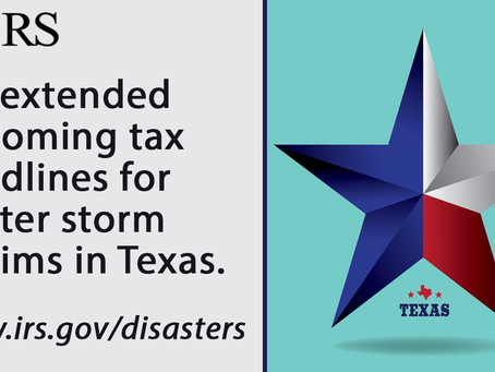 Texas Tax Extension