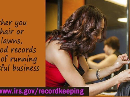 Keep Good Business Records!
