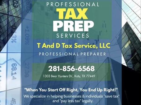 Professional Tax Preparers