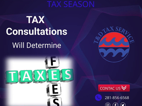 Tax Consultations Will...