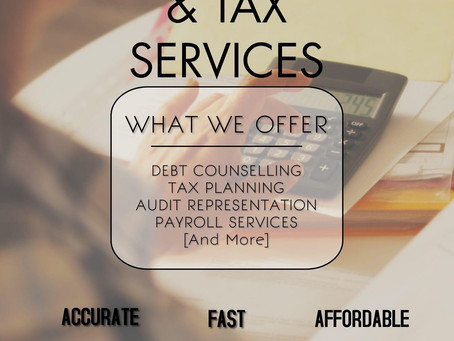 Accounting & Tax Services!