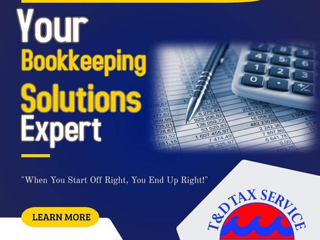 Your Bookkeeping Solutions Expert!!!