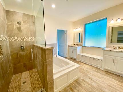New Construction: Master Bath