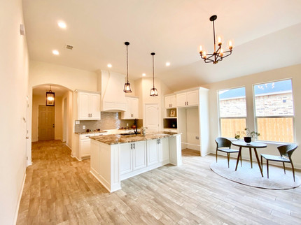 New Construction: Contemporary Kitchen