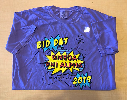 Bid Day 2019 Short Sleeve