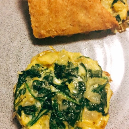 Low Carb Spinach Artichoke Frittata