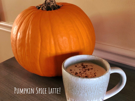 Pumpkin Spice Latte Recipe (without all of the sugar!)